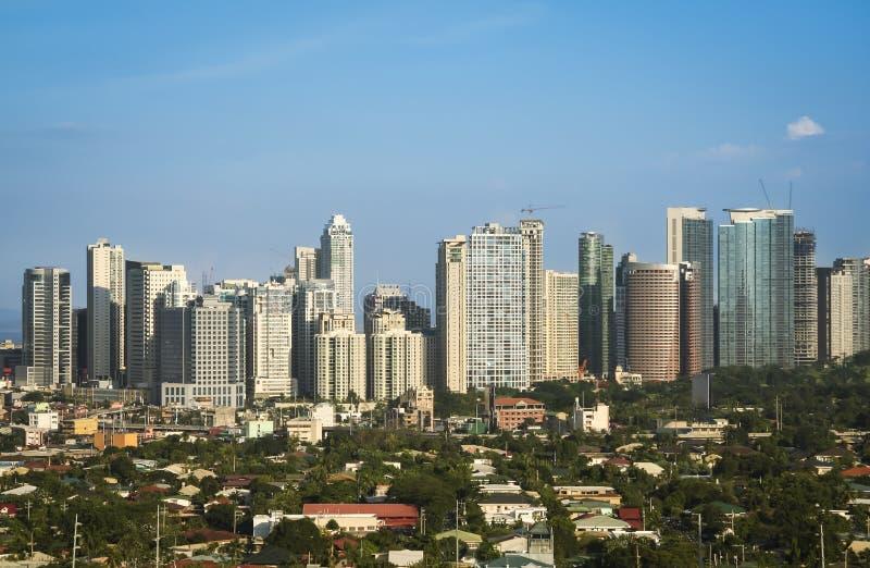 Fortu bonifacio makati miasto Manila Philippines obraz stock
