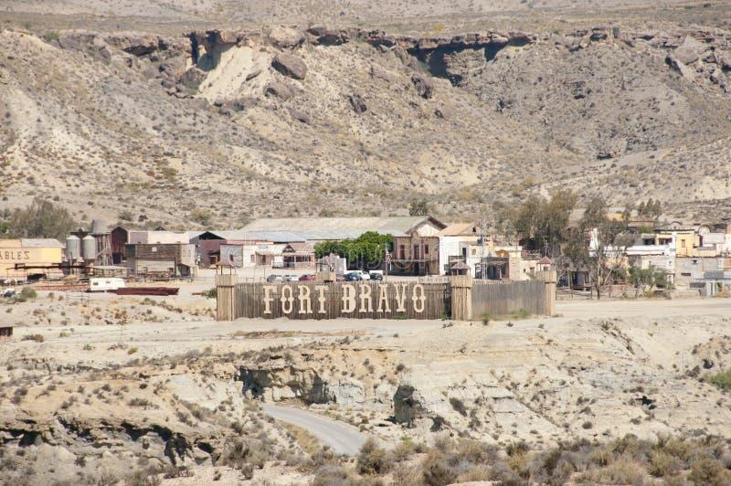 Fortu bravo - Hiszpania obraz royalty free