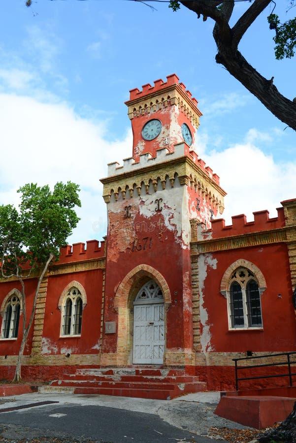 Fortu chrześcijanin, Charlotte Amalie, święty Thomas fotografia stock
