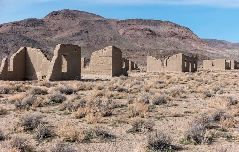 Fortu Churchill stanu park w Nevada zdjęcia stock