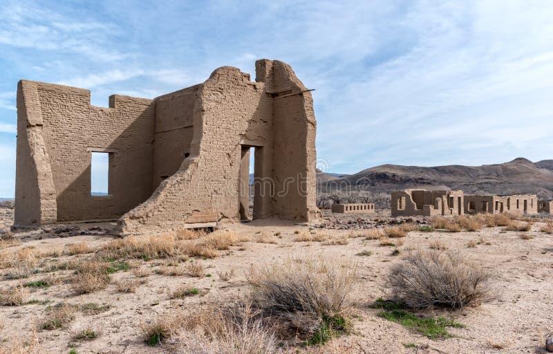 Fortu Churchill stanu park w Nevada zdjęcia royalty free