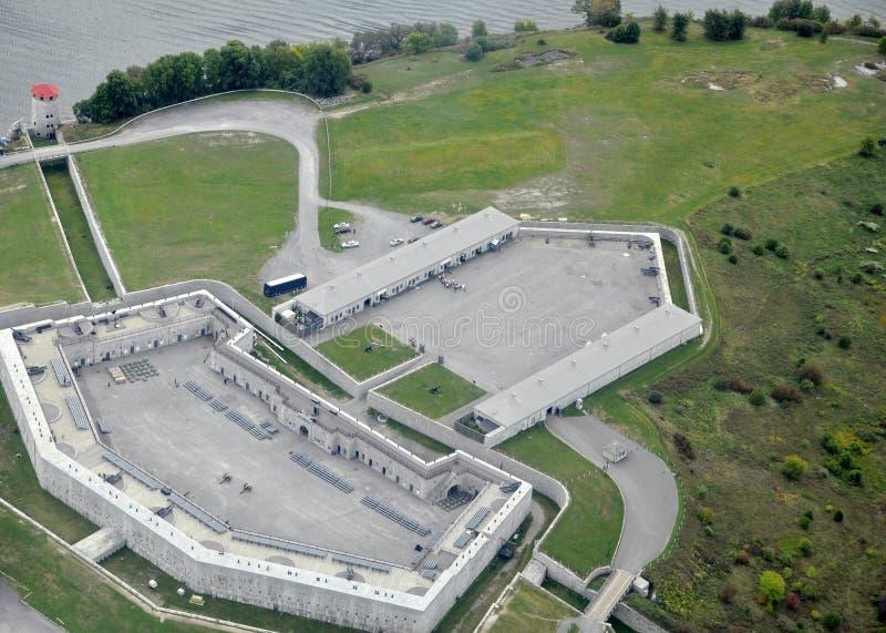 Fortu Henry antena zdjęcie stock