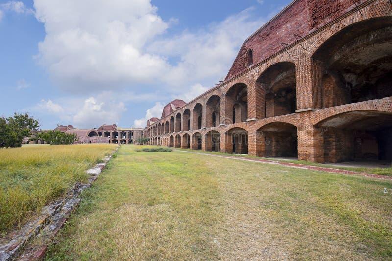 Fortu Jefferson żołnierzy ` Koszaruje obraz stock