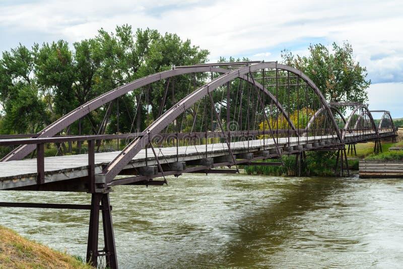 Fortu Laramie most obraz stock