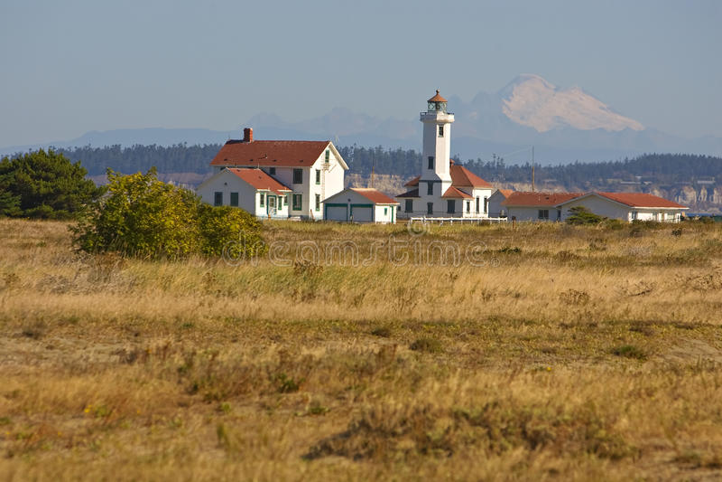 fortu latarni morskiej punkt Wilson worden fotografia royalty free