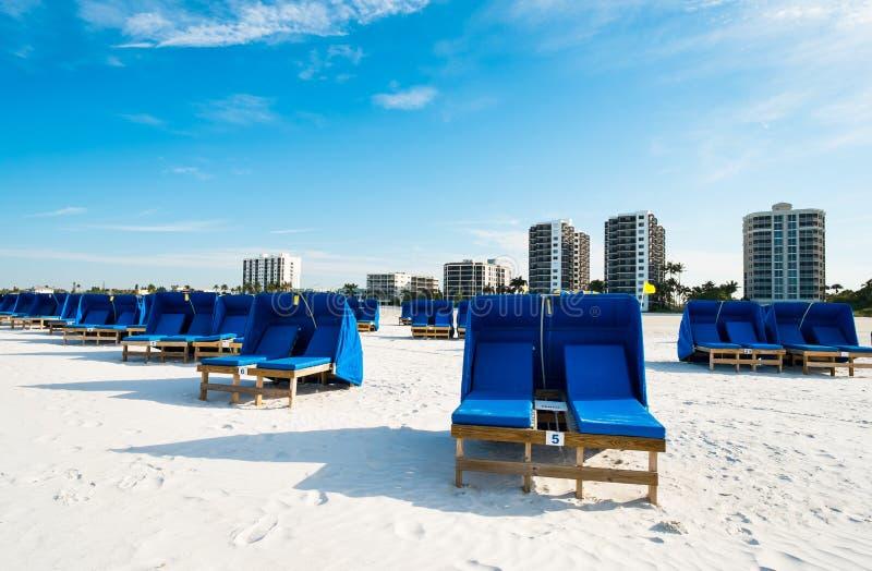 Fortu Myers plaża obrazy stock
