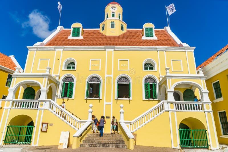 Fortu Punda Curacao Kościelni widoki obraz stock