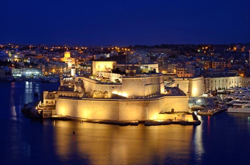 Fortu St Angelo obraz royalty free