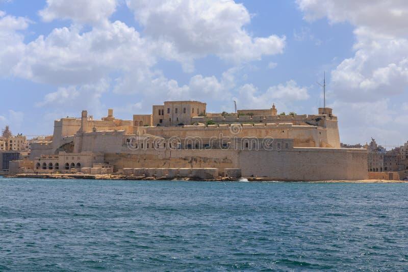 Fortu St Elmo Malta obraz royalty free
