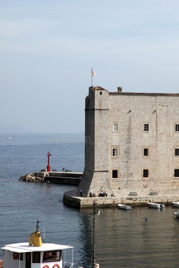 Fortu St John, Dubrovnik obraz royalty free