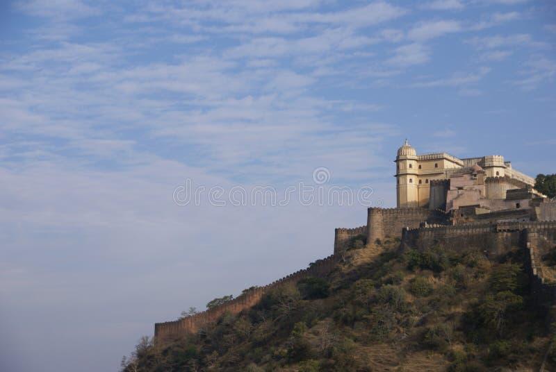 fortu warowne kumbhalgarh ściany fotografia stock
