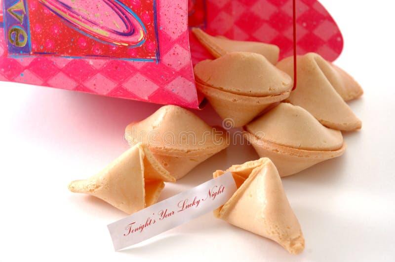 Fortuna de la tarjeta del día de San Valentín foto de archivo