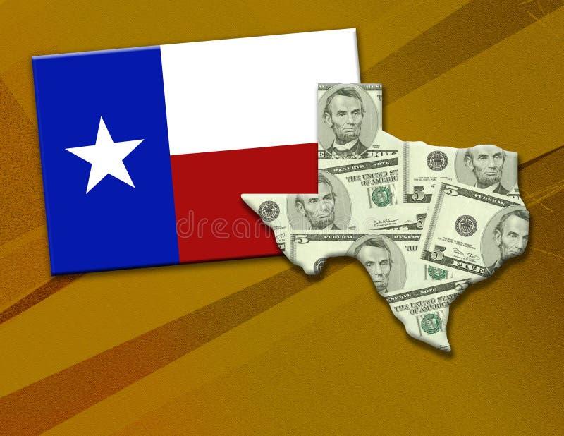 Fortuna de Texas ilustração do vetor