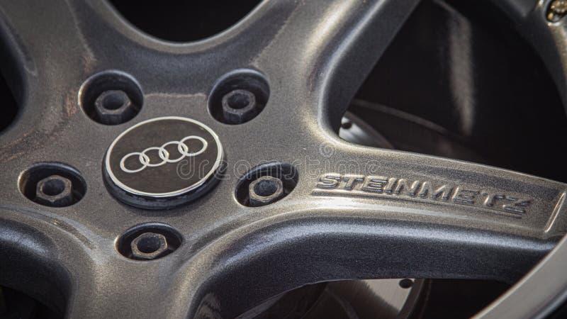 Fortuna sporta poziom na Audi Steinmetz obręczach zdjęcie stock