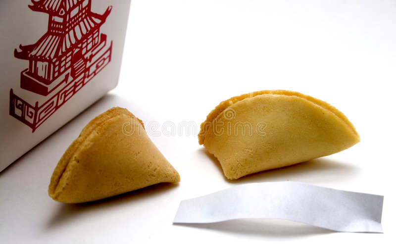 Download Fortune Cookie stock photo. Image of meal, dinner, luck - 162948