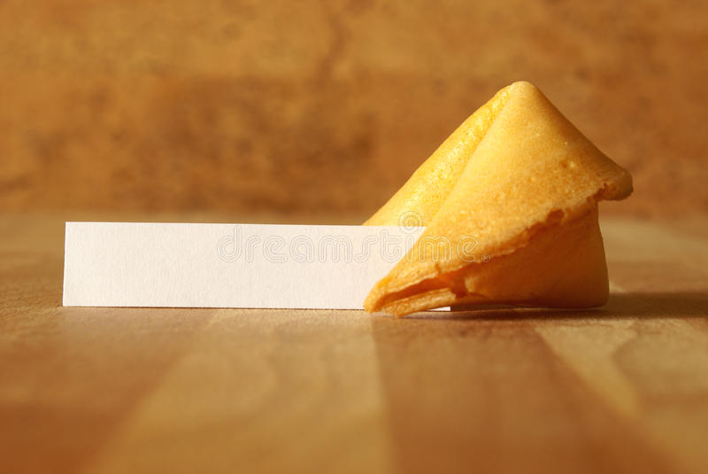Fortune Cookie royalty free stock image