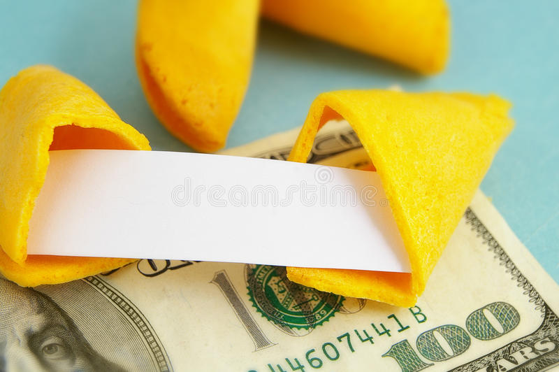 Download Fortune cookie stock photo. Image of future, unknown - 26908344