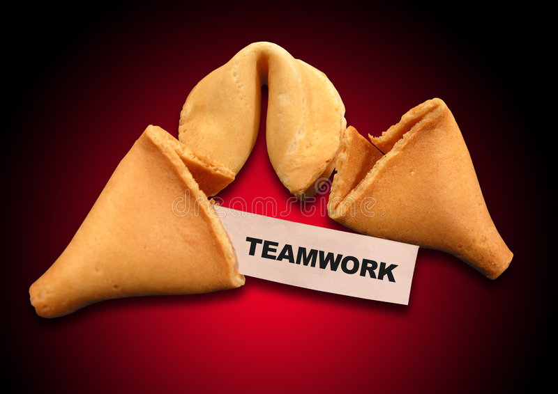 Fortune Cookie Metaphor royalty free stock image