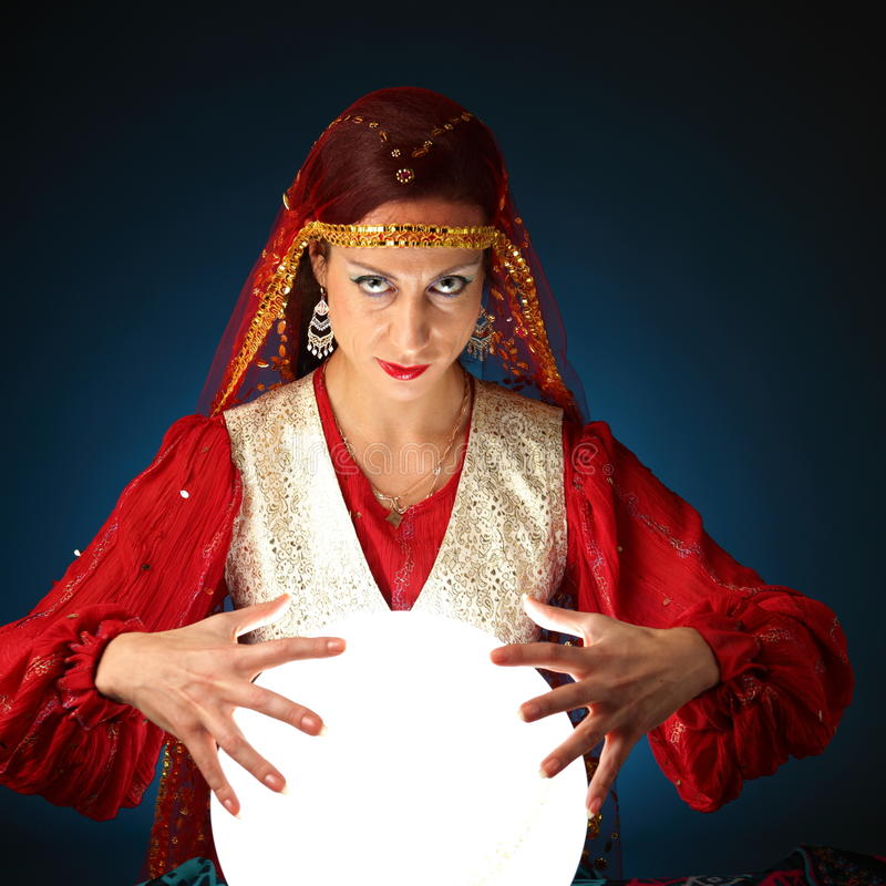 Fortune-teller royalty free stock images