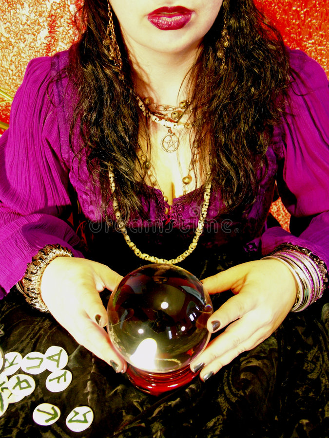 Download Fortune Teller Royalty Free Stock Photo - Image: 181965