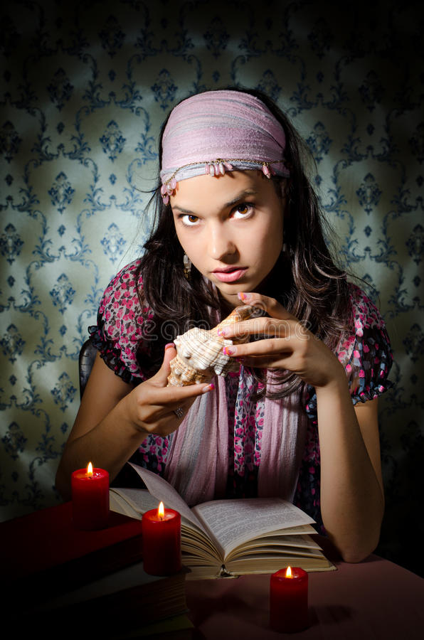 Download Fortune-teller Royalty Free Stock Photos - Image: 22584718