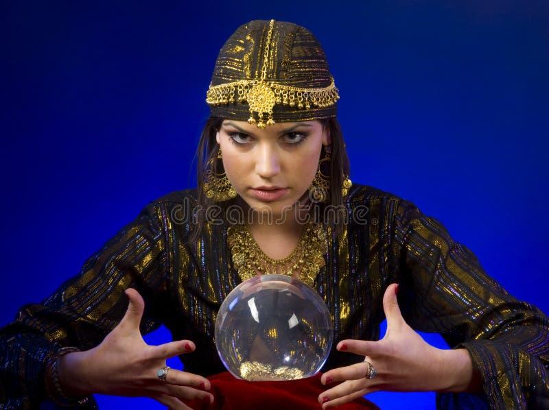 Fortune-teller images stock