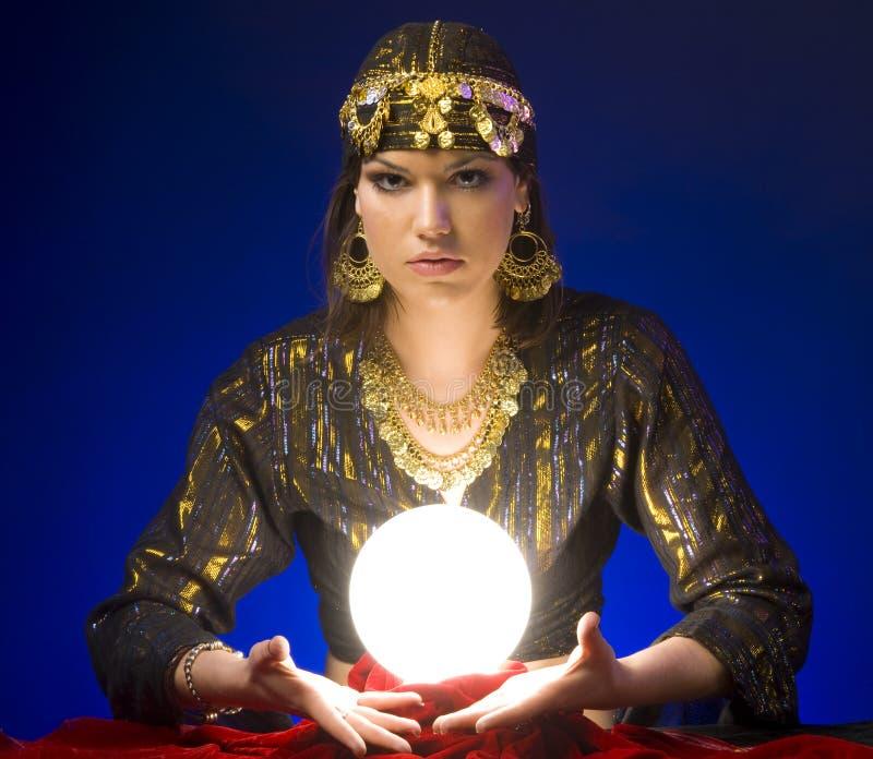 Fortune-teller fotografie stock libere da diritti
