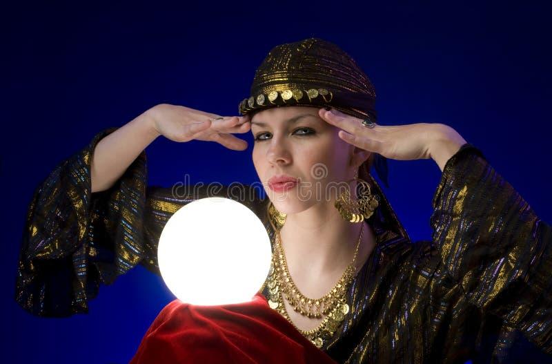 Fortune-teller photographie stock libre de droits