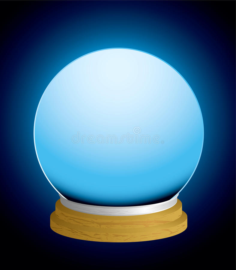 Download Fortune Teller Crystal Ball Stock Vector - Image: 15723408