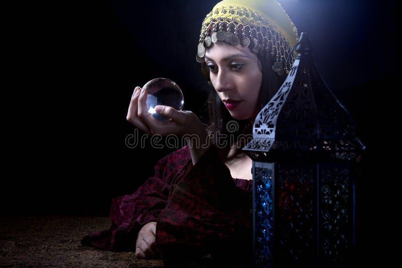 Fortune Teller psichico fotografia stock libera da diritti