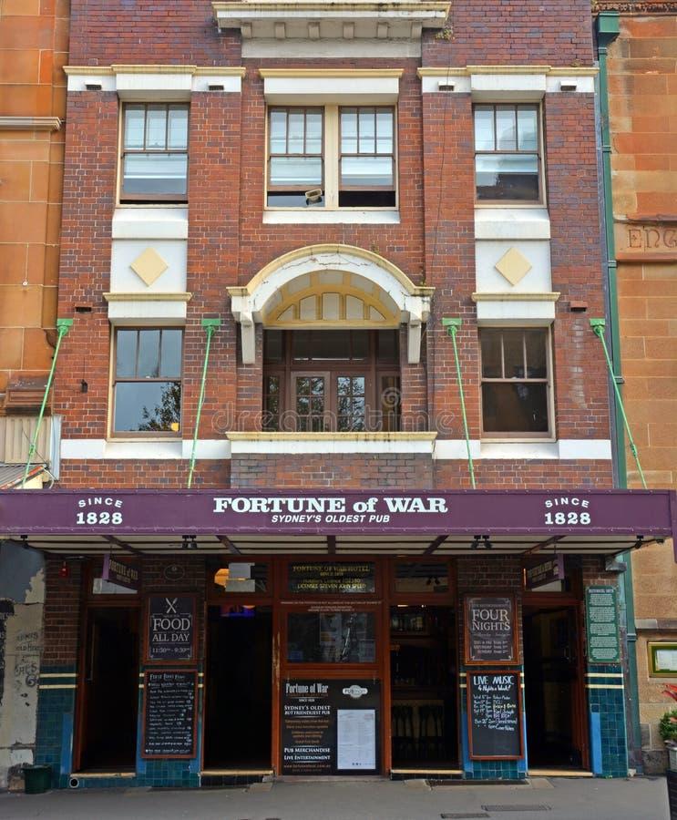 Fortune of War - Sydney's Oldest Pub & Restaurant. royalty free stock image