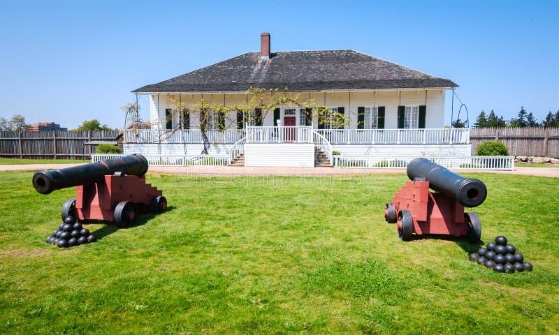 FortVancouver nationell historisk plats royaltyfri foto