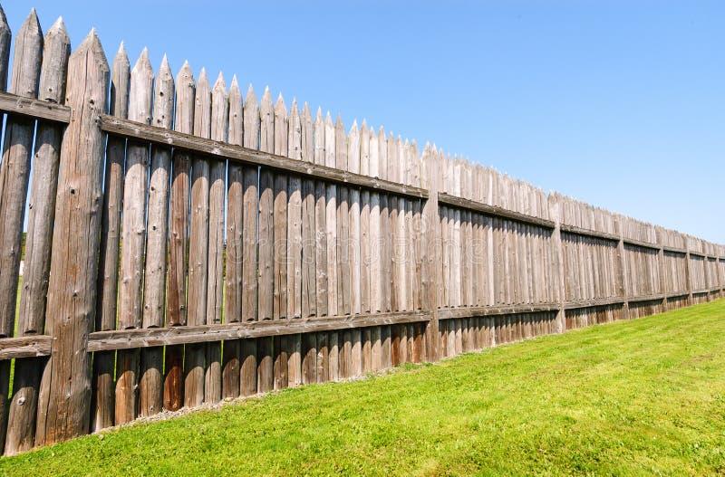 FortVancouver nationell historisk plats royaltyfria bilder