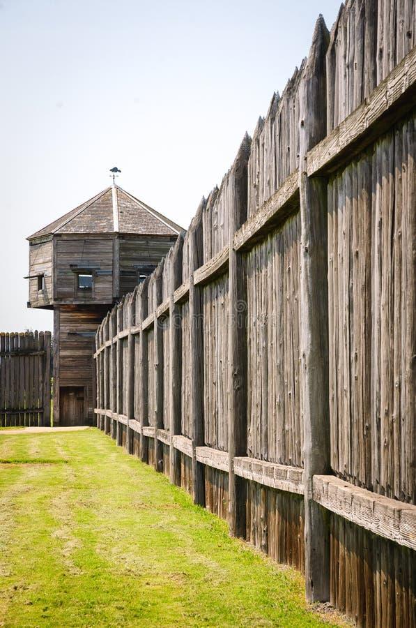 FortVancouver nationell historisk plats fotografering för bildbyråer