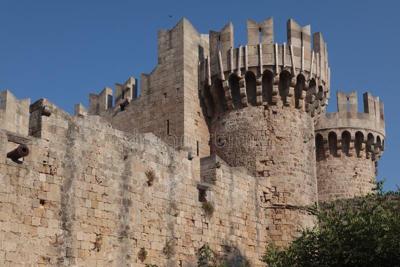 Fortyfikacyjne ściany zdjęcie royalty free