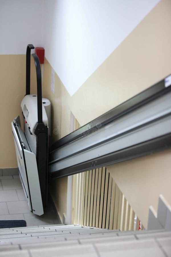 Foru windy schodki w budynku obrazy stock