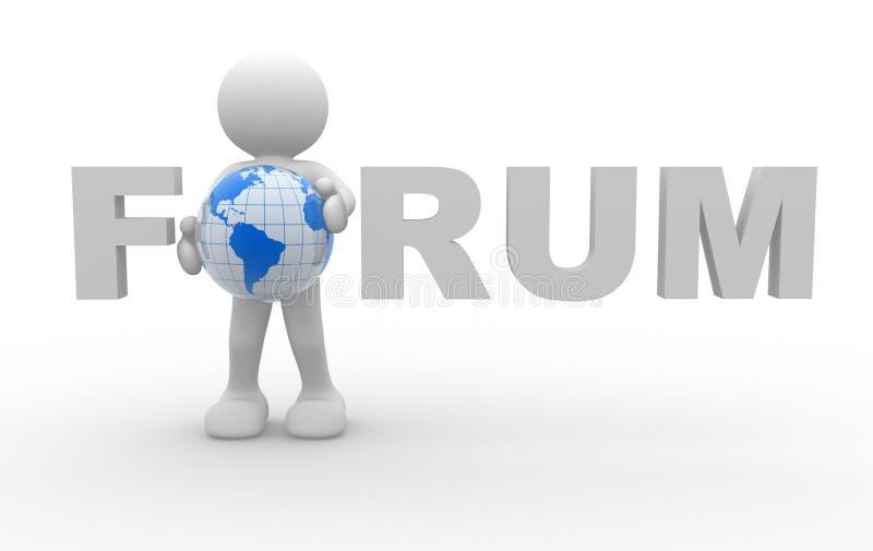 forum royalty ilustracja