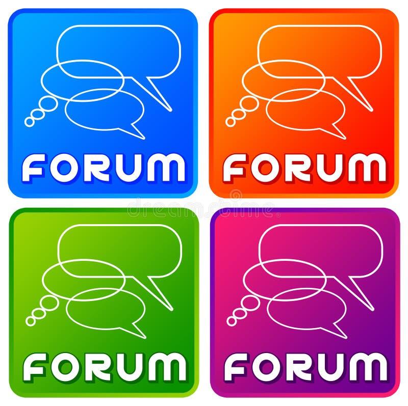 forum illustration de vecteur