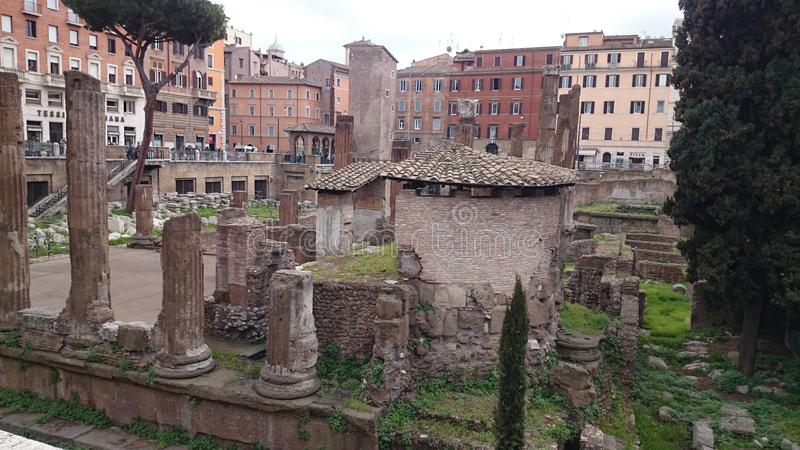 Forum Augusto a Roma fotografie stock