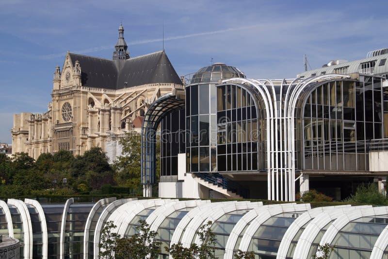 Forum des Halles stock foto's