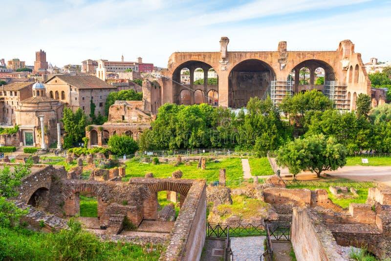 Forum romain à Rome photos stock