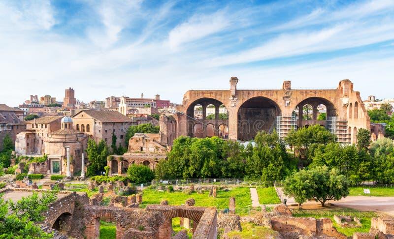 Forum romain à Rome photographie stock libre de droits