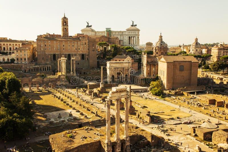 Forum romain images libres de droits