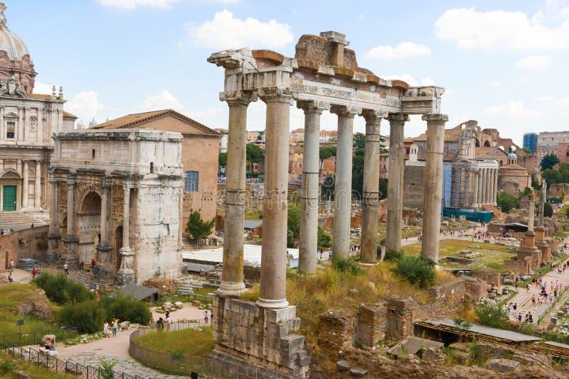 Forum romain, Rome, Italie photos libres de droits