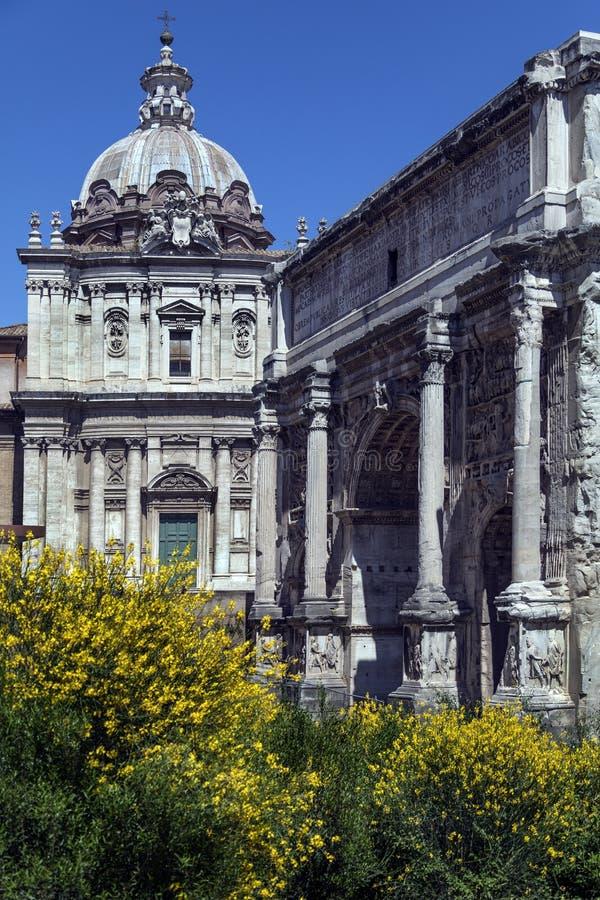 Forum romain - Rome - Italie image stock