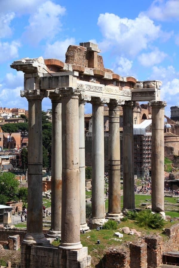Forum romain, Rome images libres de droits