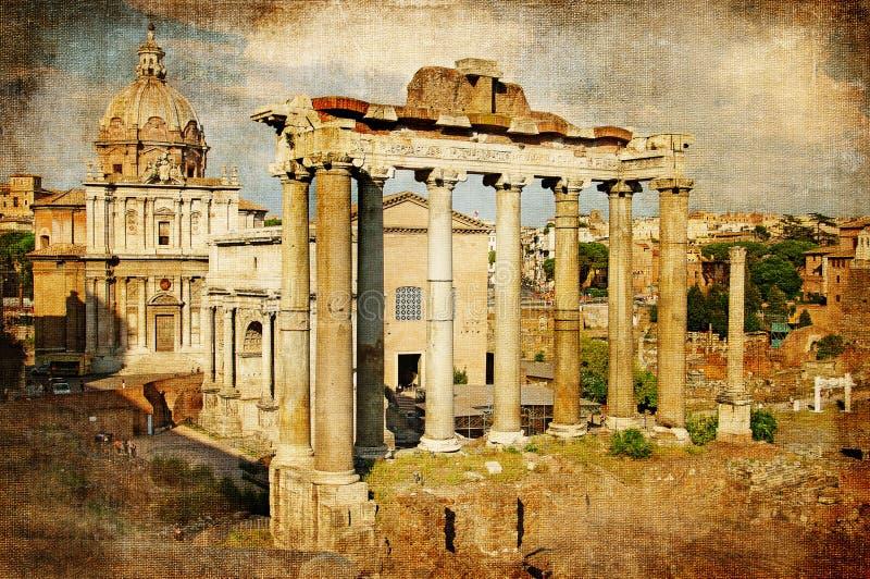 Forum romains photo stock
