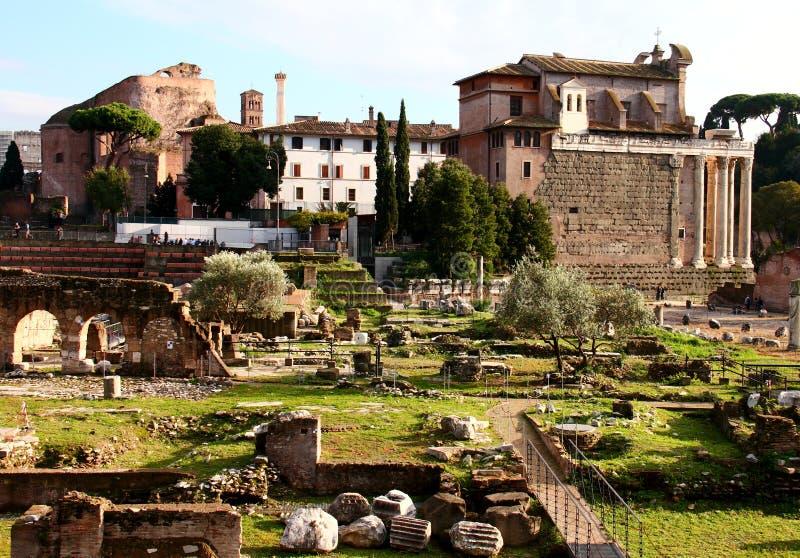 Forum Romanum lizenzfreies stockbild
