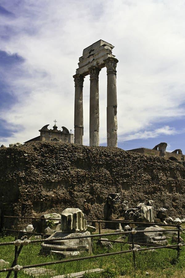 Forum Romanum royalty-vrije stock afbeeldingen