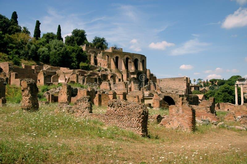 Forum Romanum royalty-vrije stock afbeelding